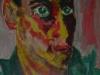 Autoritratto - olio su cartoncino 35x25 - 1960