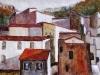 Paesaggio - olio su tela 60x80 - 1966