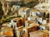 Case a Scilla - olio su tela 50x60 - 1985