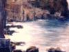 Mare di Chianalea - olio su tela 50x60 - 1986