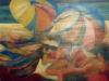 Spiaggia - olio su tela 140x140 - 1989