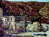 Marina di Scilla - olio su tela 50x60 - 1990