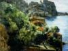 Chianalea di Scilla - olio su tela 50x60 - 1996