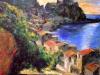 Chianalea di Scilla - olio su tela 80x100 - 1999