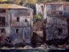 Case sul mare - olio su tela 50x60 - 2001
