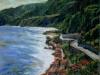 La costa a Chianalea di Scilla - olio su tela 80x100 - 2004
