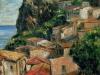 Tetti a Scilla - olio su tela 50x60 - 2006