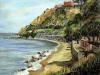 Costa dello Stretto a Cannitello - olio su tela 80x100 - 2007