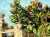 Cancello e cactus - olio su tela 40x60 - 2008