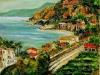 Costa dello Stretto a Cannitello - olio su tela 50x60 - 2008