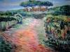 Vigna del Tuscolo -   olio su tela 80x100 - 2003