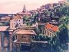 Il borgo medievale di Gaeta - olio su tela 80x100 - 2003