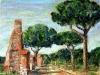 Appia Antica - olio su tela 50x60 - 2010