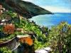 Costa a Positano - olio su tela 50x60 - 2012