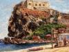 Settembre a Scilla - olio su tela 50x60 - 2012