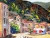 Marina di Scilla - olio su tela cm. 40x60 - 2015