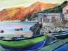 Meriggio sulla Costa Viola - olio su tela 50x60 - 2013