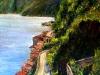 Costa di Chianalea di Scilla - olio su tela - 80x60