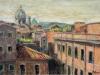 Tetti di Roma - olio su tela - 40x60