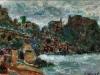 Chianalea di Scilla - t.m. su cartoncino - 25x34