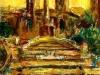 Trinità dei Monti - t.m. su cartoncino - 40x30